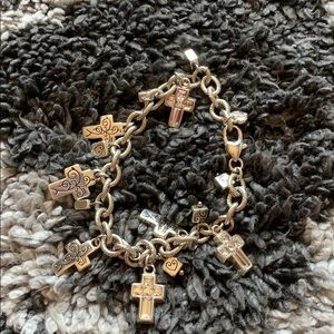 Brighton bracelet  with crosses with stones